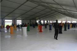 Sasol event flooring 2010 - carnival city 011